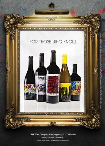 Stratus Wine & Spirits launches collection of contemporary art inspired California Wines that break tradition, transcend taboos, and change perspectives