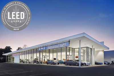 HABBERSTAD BMW EARNS COVETED LEED SILVER CERTIFICATION FOR ENVIRONMENTALLY CONSCIENTIOUS CONSTRUCTION; First BMW Future Retail Facility in United States to Earn LEED Certification