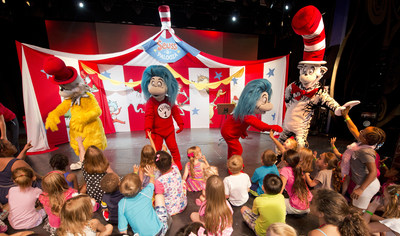 On Carnival Cruise Line ships, the Seuss at Sea program encourages reading and creativity by introducing young guests to classic Dr. Seuss characters. Photo courtesy of Carnival Cruise Line