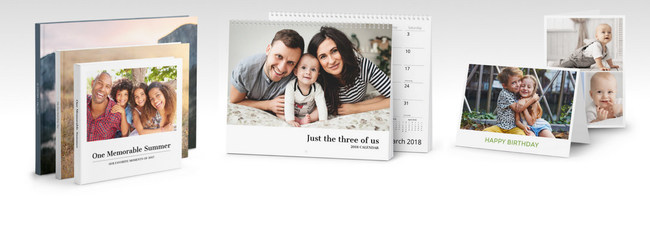 Customizable Photobooks, Cards & Calendars from Mimeo Photos.