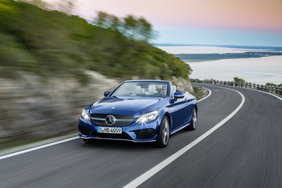 Sales of the consistently popular C-Class family of vehicles grew by an impressive 32.7% compared with July 2017. (CNW Group/Mercedes-Benz Canada Inc.)