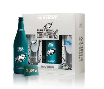 Bud Light Immortalizes The Philadelphia Eagles' Historic Super Bowl LII Victory With Commemorative