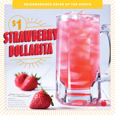 The STRAWBERRY DOLLARITA(TM) will be Taking Over Your Applebee's for the Month of August