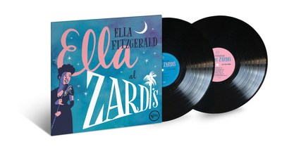 Ella Fitzgerald's long lost live album 'Ella At Zardi's,' recorded in 1956, to be released on vinyl on August 17.