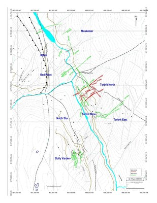 New Mineralized Zone Discovered at Dolly Varden Silver (CNW Group/Dolly Varden Silver Corp.)