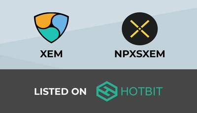 Hotbit has successfully integrated Mosaic tokens into its exchange platform and the first two tokens to be listed are XEM, NEM native coin and NPXSXEM, Pundi X Mosaic token.