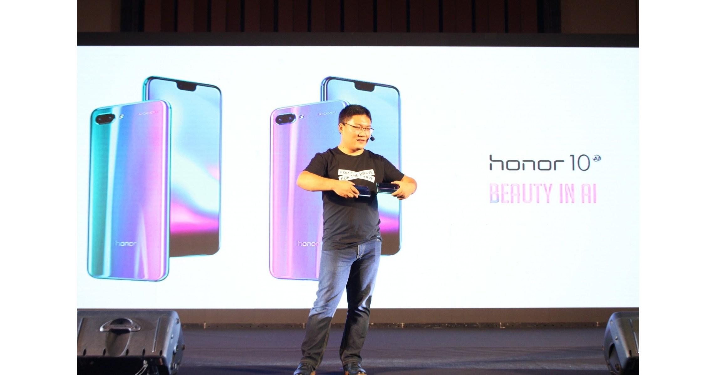 Honor 10 offiziell in Indonesien gestartet - das innovativste Vorzeigemodell 2018 mit KI-Fotografie und exquisitem Aurora-Glas-Design