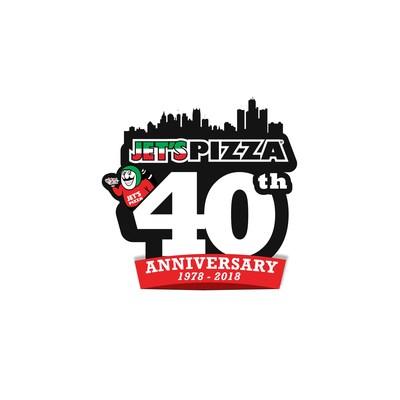 Jet's Pizza 40th Anniversary 1978-2018