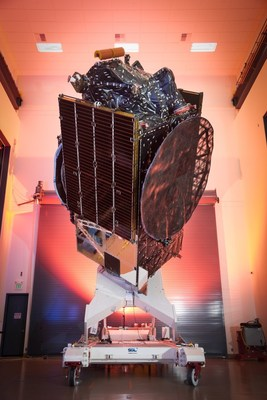 The SSL-built Merah Putih communications satellite for Telkom Indonesia was successfully launched. Image courtesy of SSL. (CNW Group/Maxar Technologies Ltd.)