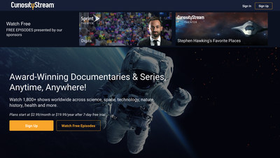 With CuriosityStream SHOWCASE, viewers can access 18 titles for free worldwide.