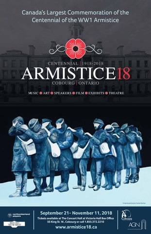 Armistice18 Poster (CNW Group/Town of Cobourg)