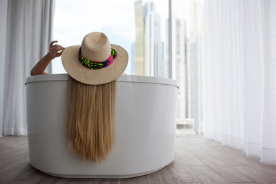 W Hotels Worldwide today unveils its latest celebration of global fashion: W HOTELS x GIGI BURRIS – a trio of festive Panama Hats designed as a stylish nod to W Panama City, which opened earlier this year.