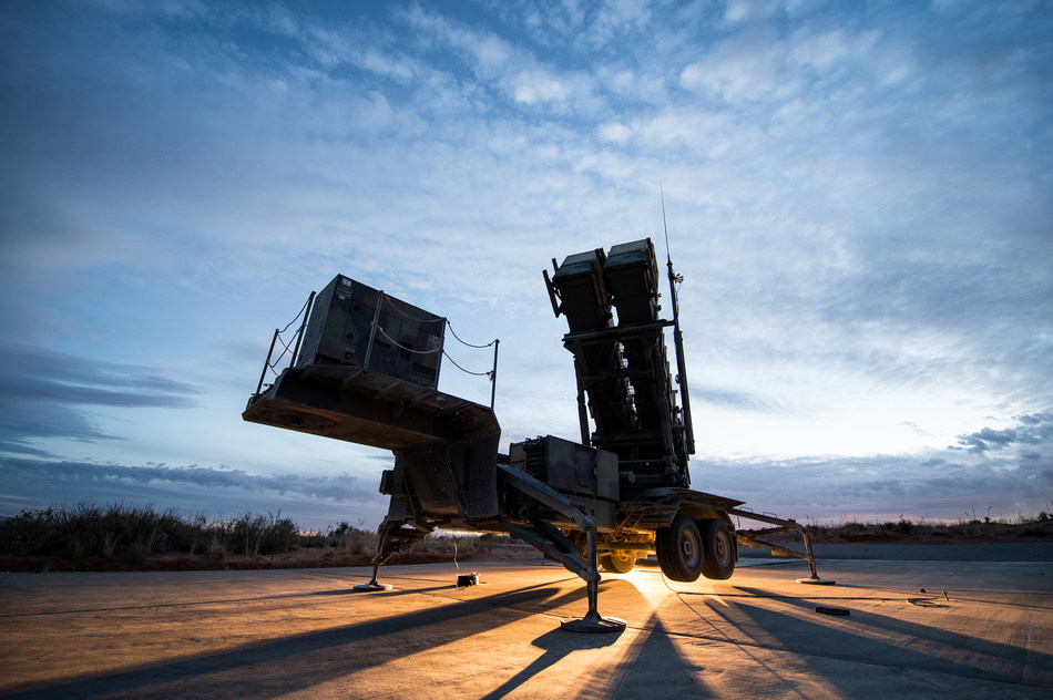 Raytheon's Global Patriot Solutions provides a missile defense architecture that is continuously upgraded to keep ahead of evolving threats. (PRNewsfoto/Raytheon Company)