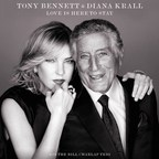 Tony Bennett And Diana Krall Celebrate The Gershwins On Their Collaborative Album, LOVE IS HERE TO STAY, Out On Verve Records/Columbia Records On September 14