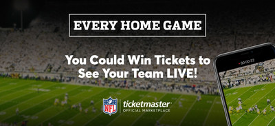 Ticketmaster Brings Fans To Every NFL Home Game With Epic, 32-Team Ticket Giveaways