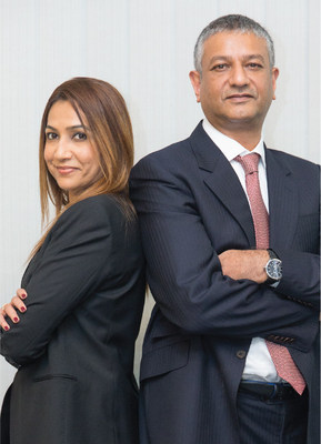Sharada Qureshi, Managing Partner, Star Solutions and Kareem Qureshi, Managing Director, Star Solutions.