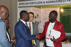 Delegates conducting business at Africa Fertilizer Agribusiness conference