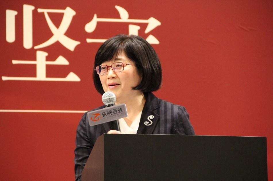 TOT BIOPHARM COMPANY general manager Gloria Huang