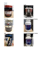 Seized products - Unauthorized workout and sexual enhancement supplements (CNW Group/Health Canada)