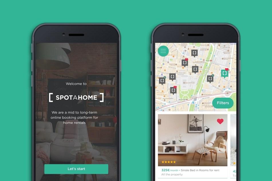 Spotahome App (PRNewsfoto/Spotahome)
