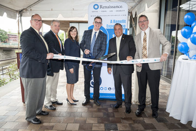 Ancillary insurance provider Renaissance celebrated the grand opening of its New York office in Binghamton with a ribbon cutting this morning.