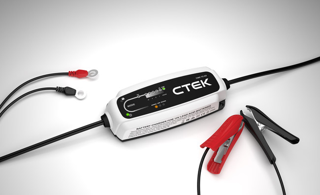 CTEK, a leading global brand in the care and maintenance of vehicle batteries, has launched the CT5 TIME TO GO charger that advances CTEK's intelligent charging technology with a patent-pending, charging time indicator. The CT5 TIME TO GO charger accurately predicts the remaining charging time, allowing users to plan their activities by knowing exactly when their battery will be fully charged.