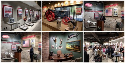 In honor of the company's 100th anniversary, Twin Disc unveiled the Heritage Gallery on Aug. 2, which showcases products, from the first marine transmission prototype to the E-Type flywheel clutch and Power-Shift Transmission, along with progressing generations of Twin Disc's machine parts over the company's 100-year history.