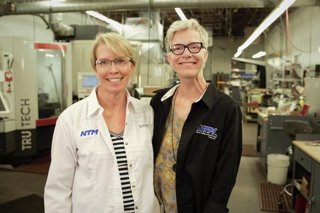 Barbara (Thielen) Dorumsgaard and Cynthia (Thielen) Blue