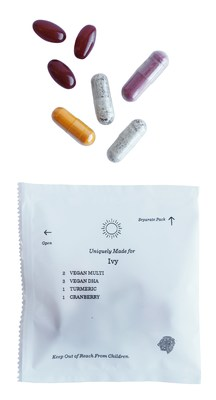 Persona daily pack of vitamins