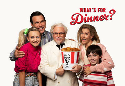 Beginning August 6, ads featuring Jason Alexander as the Colonel and dinnertime hero will air on television and computer screens nationwide to promote KFC's $20 Fill Ups™, which for the first time are available in four different varieties.