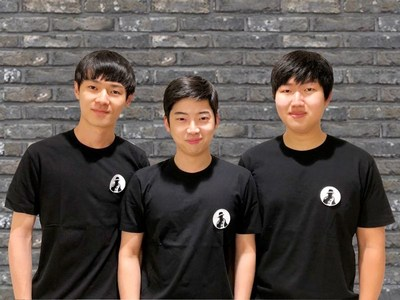 Muzika Founders on Forbes 30 under 30 Asia 2018, CTO Sangmin Heo, CEO Inseo Chung, COO Jangwon Lee (from left to right)