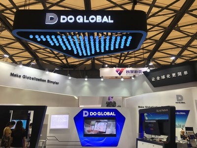 DO Global's booth at ChinaJoy conference