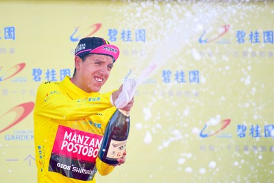 Aguirre wins Tour of Qinghai Lake thanks to mountain-stage