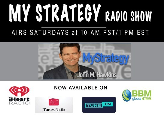 My Strategy radio show, hosted by John M. Hawkins