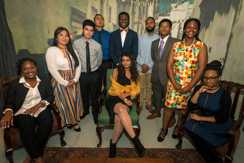 The 2018 Frederick Douglass Global Fellows. Photo by Seed Lynne