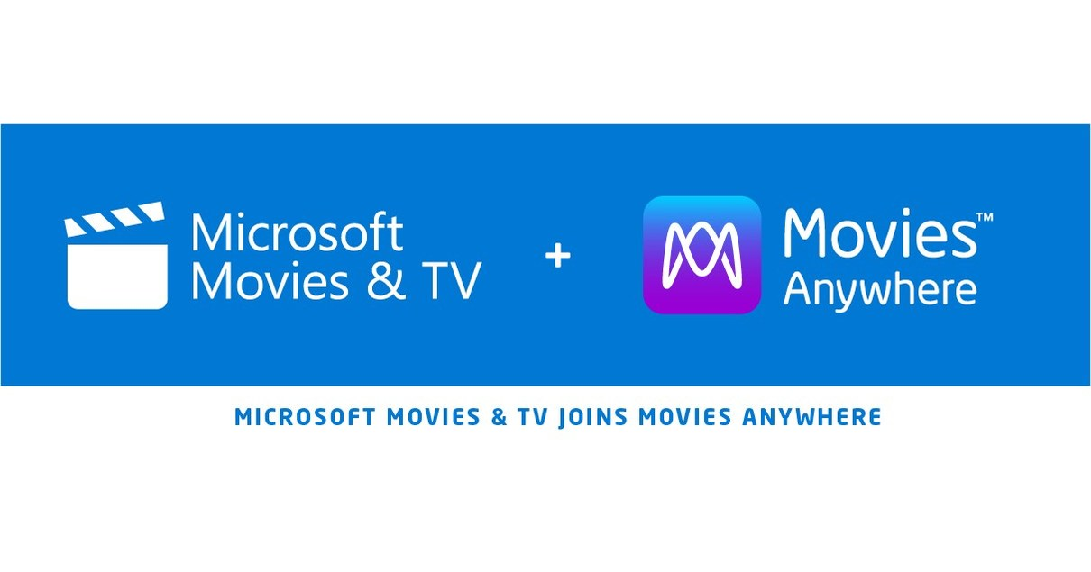 Movies Anywhere Expands To Include Microsoft Movies & TV Service