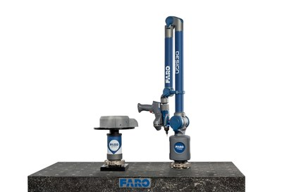 The FARO 8-Axis Design ScanArm solution is the only integrated remote axis scanning solution providing transparent real time scanning rotation.