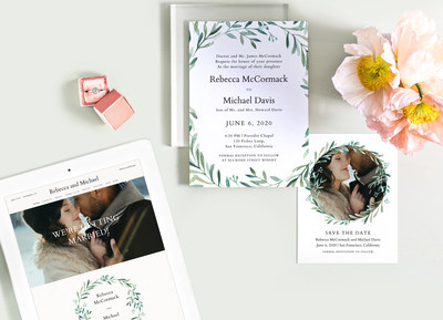 Zola Launches Beautiful Collection Of Save The Dates And Wedding
