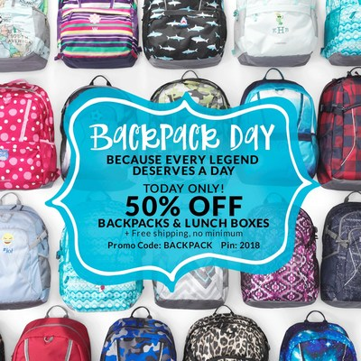 Lands' End Hosts Backpack Day Just Before Kids Head Back to Class,