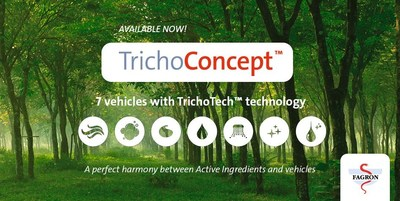 Introducing a new comprehensive line of 100% natural hair care vehicles with patented TrichoTech technology.
