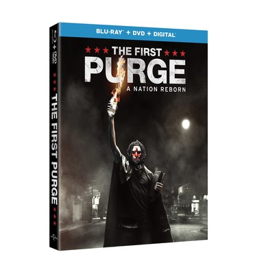 From Universal Pictures Home Entertainment: The First Purge