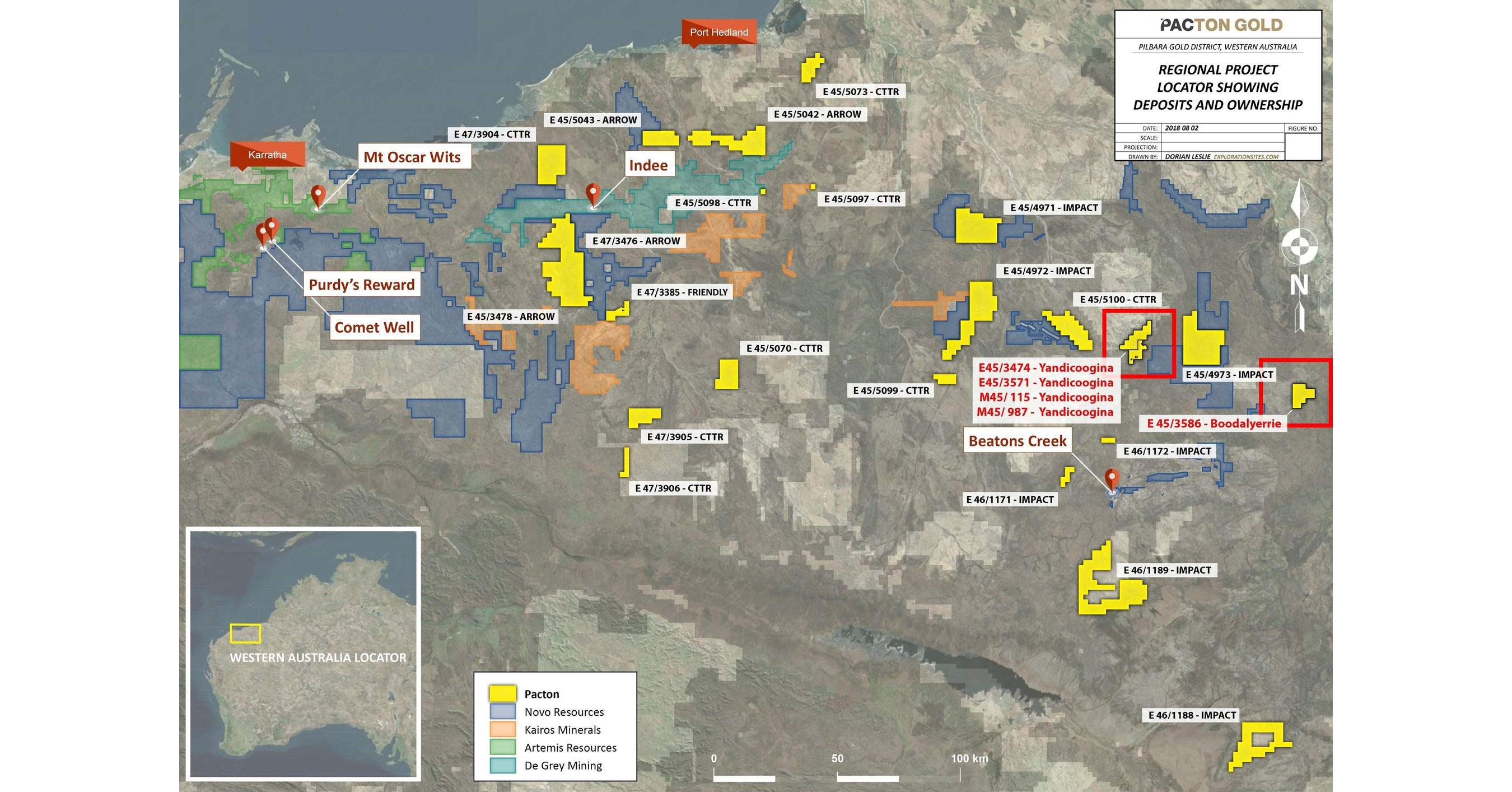 Pacton Gold to Acquire 2 More Granted Mining Leases and Further Increase its Strategic Property Portfolio in Western Australia's Pilbara Mining Region