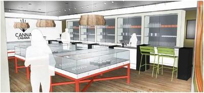Canna Cabana - Concept Design 1 (CNW Group/High Tide Ventures Inc.)