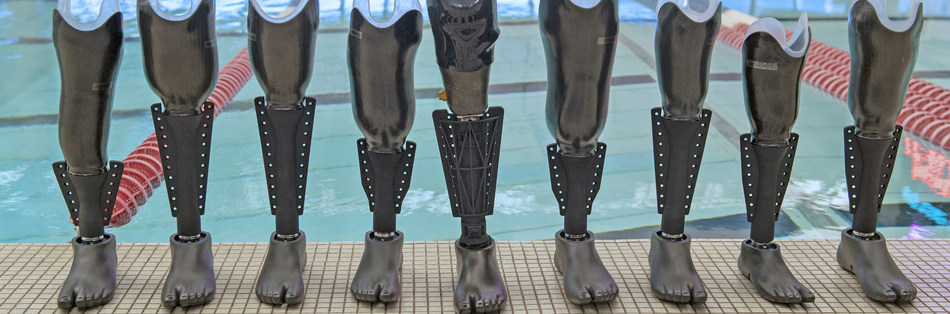 """The first prosthetic swim leg """"The Fin"""" could help 2 million American amputees"""