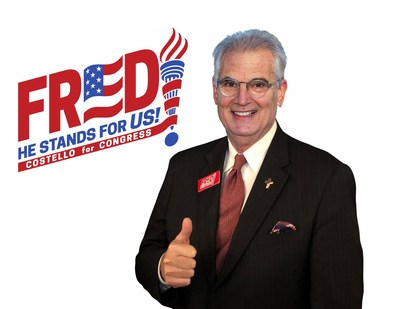 Fred Costello, #MAGA candidate for Congress in Florida CD6 (PRNewsfoto/Fred Costello for Congress)
