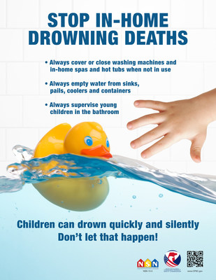 In Home Drowning Poster - English
