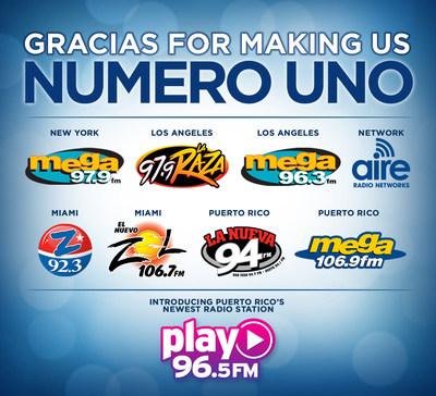 SPANISH BROADCASTING SYSTEM GRABS TOP SPOT IN RADIO ACROSS KEY MARKETS REGARDLESS OF LANGUAGE