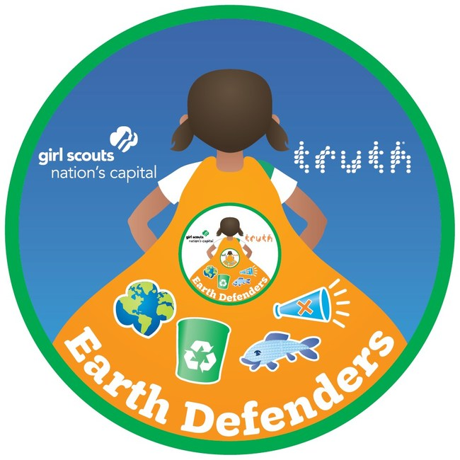 truth x Girl Scouts patch