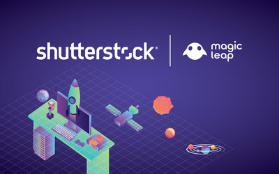 Magic Leap Integrates Shutterstock Visuals to Power Its Gallery And Screens Application for Developers