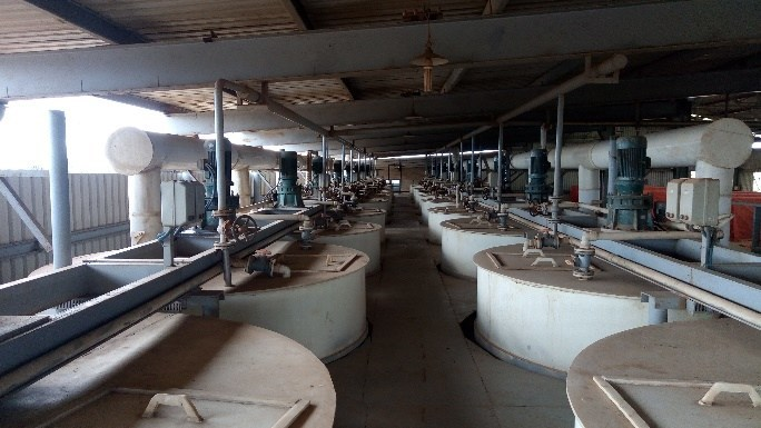 Figure 1. Traxys Cobalt Hydroxide Processing Plant in Lubumbashi, DRC. (CNW Group/Cobalt Blockchain Inc.)